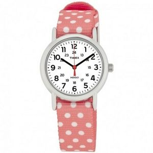 Timex TW2P65600 Weekender Women's Pink Nylon Band